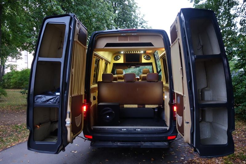 Переоборудование грузовика в микроавтобус