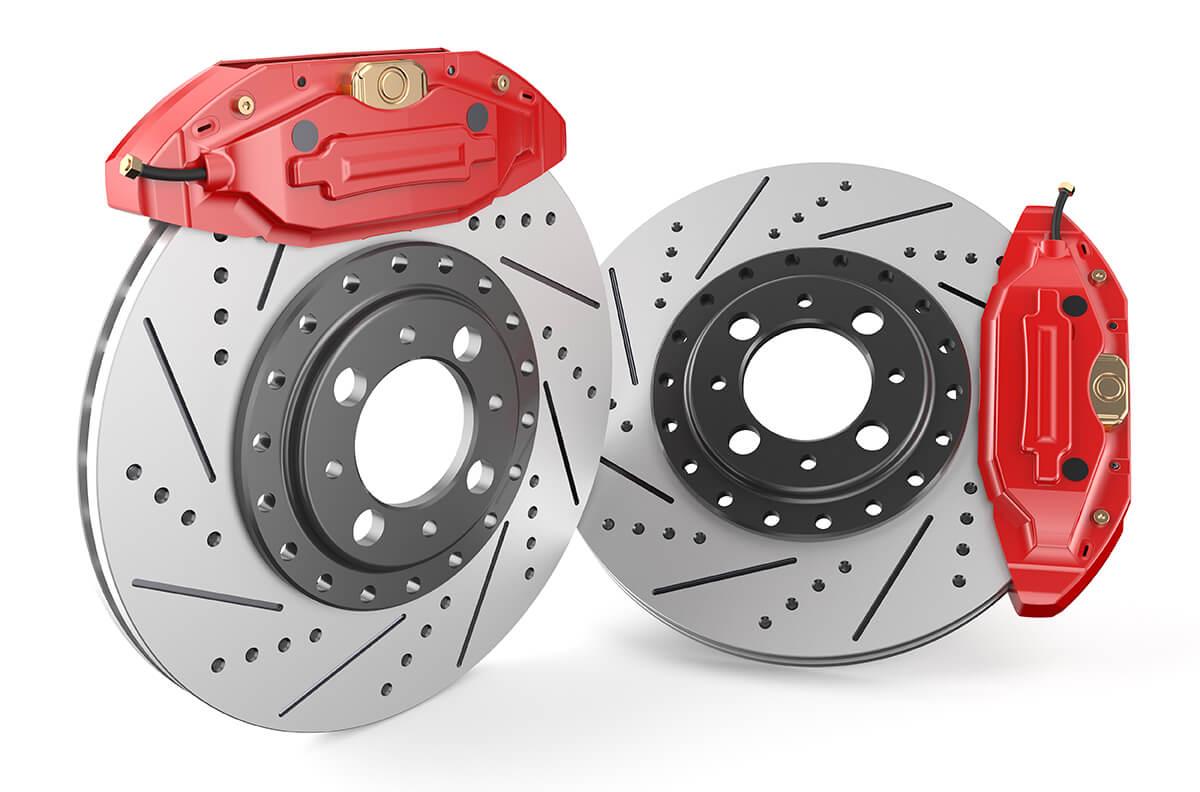 Слотированные и вентилируемые(перфорированные) тормозные диски. В чем отличия от обычных тормозных дисков