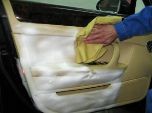 Химчистка салона автомобиля своими руками.