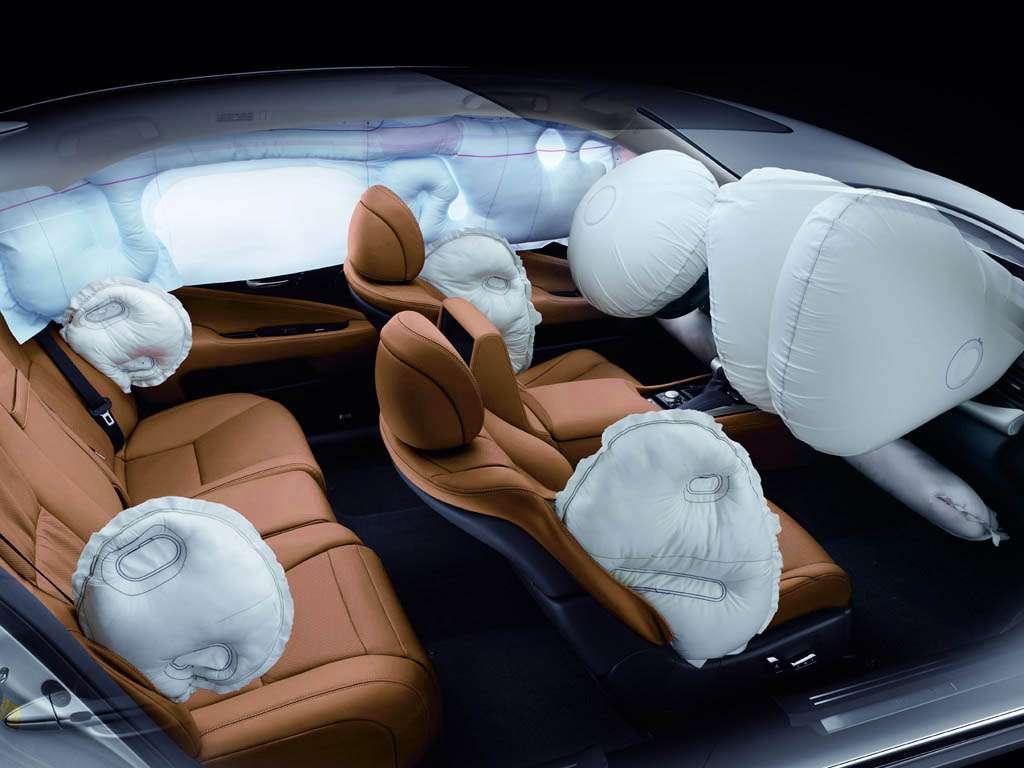 Оборудование автомобиля, способствующее безопасному вождению